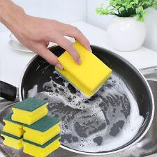 5Pcs Cleaning Sponge Brush Foam Wash Bowl Dishes Pot Washing Kitchen Scourer