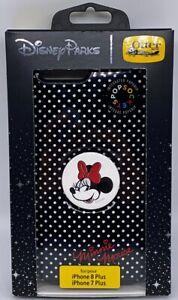 Disney Otterbox Symmetry iPhone 7 8 Plus Minnie Mouse Pop Grip + Case