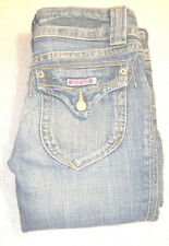 Hudson Womens Jeans 27x31 Bootcut Medium wash 98% cotton 2% spandex Blue