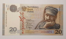 Poland commemorative banknote, 100 years of independance, 2018, UNC