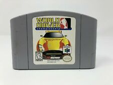 World Driver: Championship  - Nintendo 64 - Game Cart only -