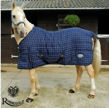 Denver 4oz Lightweight Stable Quilted Rug – Perfect for mid season – Breathable