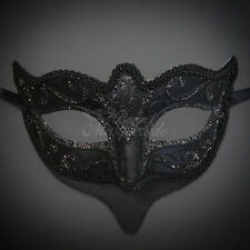 Petite Venetian Paper Mache Mardi Gras Masquerade Ball Mask for Women