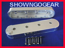 FABRICATED ROCKER COVERS ALUMINIUM LS1 LS2 LS6 LS7 L92 NO COIL STANDS CHEV DRAG