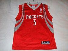 STEVE FRANCIS 3 Houston Rockets NBA Reebok Red Basketball Jersey Boy's Medium
