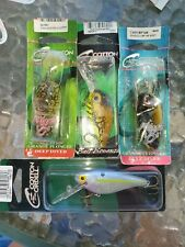 Lot Of 4 Cotton Cordell Deep Diving Crankbait Fishing Lures