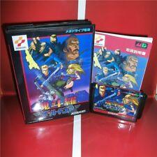 Contra Hard Corps for Sega Genesis - Reproduction Cart, Case & Manual Japanese