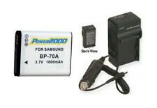 Battery + Charger for Samsung BP-70A EABP70A EA-BP70A