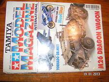 ! Tamiya Model Magazine n°38 M26 Dragon Wagon Honda NSR 500 Tornado GR.MK1