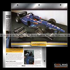 #101.03 ★ PROST-PEUGEOT AP 01 ★ V10 3.0 700 ch F1 Formule 1 Fiche Auto Car card