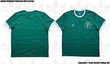 adidas Originals Palmeiras 13/14 Retro Model Short Sleeve Jersey(2XL)Green