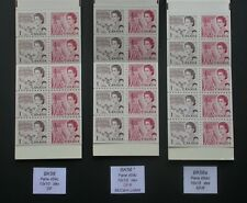 Bk56 x 3 Different Variety Booklets ~ Canada Centennial Stamps