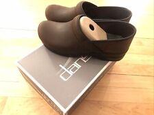 Dansko Womens Size 43 Professional Suede Clog Antique Brown/Black 206-780202