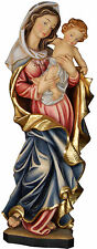 "STATUA MADONNA DELLA PACE cm. 90 LEGNO  - OUR LADY of Peace 35,43""  WOODCARVING"