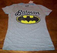 WOMEN'S TEEN VINTAGE STYLE  BATMAN DC COMICS T-shirt MEDIUM NEW w/ TAG