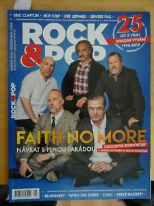 FAITH NO MORE MAGAZINE DEF LEPPARD TOTO MICHAEL SCHENKER HACKETT GIRLSCHOOL