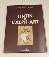 Archives Tintin - Tintin et l'Alph-art - Hergé - NEUF SOUS BLISTER