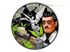 Nero Libertad Day of the Morti - Gesù Malverde Messico 1 oncia d'argento 2016