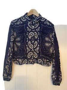 Zara Printed Shirt Xs