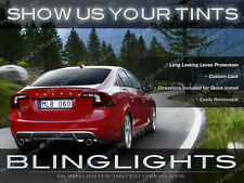 Volvo S60 Tinted Taillamp Taillight Smoked Overlays Kit R-Design Protection Film
