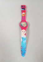 Children's Pink Frozen Disney Character Watch Elsa Anna Girls Wristwatch Gift