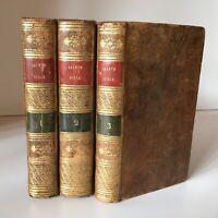 Saci La Biblia Contenedor Viejo Y El Nuevo Testament 3/3 Desprez 1722