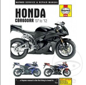Honda Cbr Haynes Motorcycle Service Repair Manuals For Sale Ebay