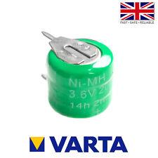 Varta 3/V20H / V20H Ni-MH 3.6V 20mAh Rechargeable 2 Pin Button Cell Battery