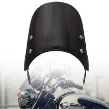 For Triumph Bonneville/SE/T100 01-17 Black ABS Motorcycle Windshield Windscreen