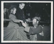 1944 Emmett Kelly, World Famous Clown at Ringling Brothers Circus Vintage Photo
