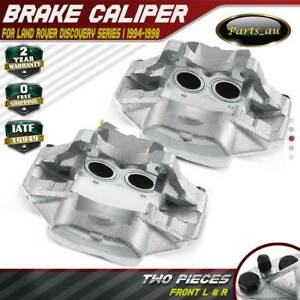 2x Disc Brake Calipers Front Left & Right for Land Rover Discovery I 1994-1998