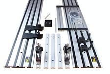 Circular Saw Guide Rail Guide Track PLUNGE SAW Track 2x1400mm Rail Set