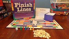 Finish Lines 1997 Trivia Board Game Quote Movies, TV, Literature, Music & More