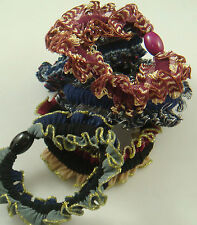 3pcs Women elastic hair ties Scrunchie Ponytail Holder Hair Accessories gzx18G