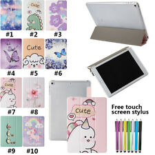 """Cartoon Smart Magnetic Flip Leather Stand Case For iPad Pro 9.7"""" Air 5th 6th Gen"""