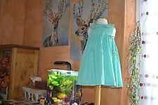 robe tartine et chocolat tres joli vert  3 ans avec brelogues**