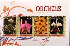 ST VINCENT GRENADINES CANOUAN 2011 205-12 Block 19-20 Orchideen Orchids Blumen