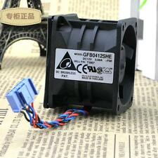 NEW DELTA GFB0412SHE BALL BEARING SERVER FAN 12V .68 AMP DELL 8X771 1750 USA