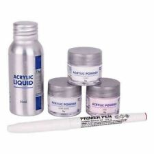 The Edge Acrylic Powder and Liquid Trial Kit  - Acrylic Student Starter Kit