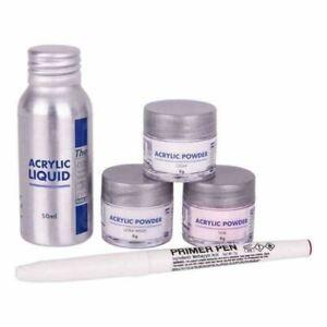 The Edge Acrylic Powder and Liquid Trial Kit  - Acrylic Student Starter Kit