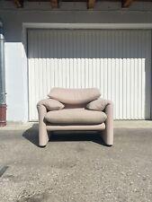 vico magistretti Maralunga Sofa Cassina Wool Perfect Condition (1) Lounge Seater
