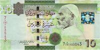 Libya, ND (2009) 10 Dinars P-73  ((Unc))