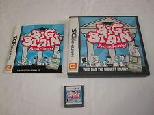 Big Brain Academy (Nintendo DS) Original Complete Nr Mint!
