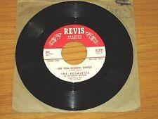 PROMO R&B/SOUL 45 RPM - ROSALETTS & THE KINSFOLK - REVIS 1012 - DO U WANNA DANCE