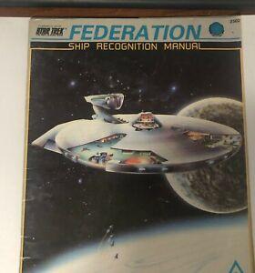 FASA Star Trek Federation Ship Recognition Manual  #2302