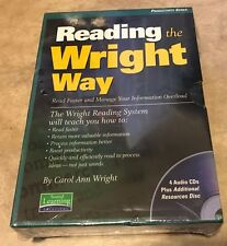 Reading the Wright Way Carol Ann Wright NEW 5 CD Set Factory sealed