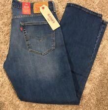 NWT Men's Levi's 514 WStretch Regular Straight Leg Jean Blue 33X30 514-0849