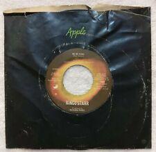 45 RPM, Vinyl, Record. Ringo Starr. No No Song/Snookeroo.