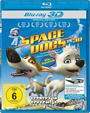 Space Dogs [FSK16] Real 3D Blu-ray NEU+OVP