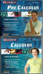 Pre Calculus & Calculus Pc Both New Win7 XP Build Your Math Skills Super Fast